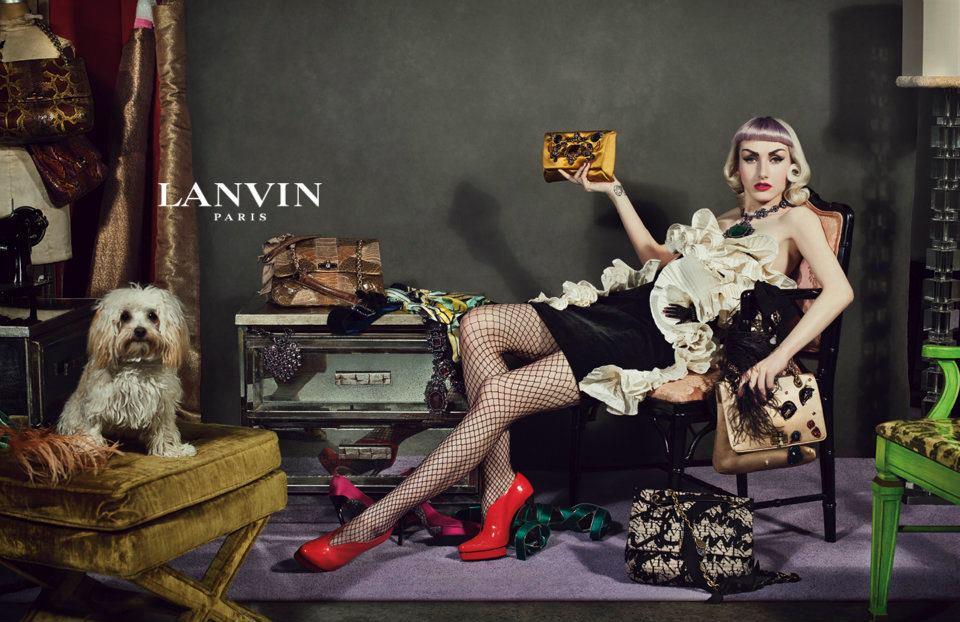 Sneak Peak at Lanvin Fall 2012 Campaign
