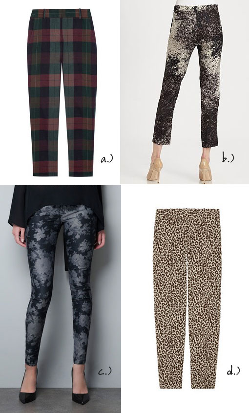 Print Pants For Fall