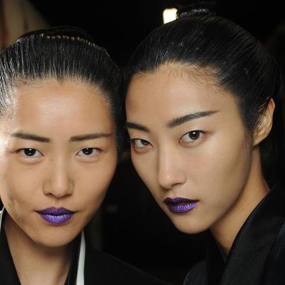 Go Regal: Metallic Purple Lips