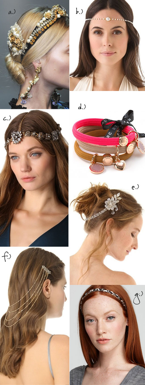 Trend Spotlight: Hair Jewelry