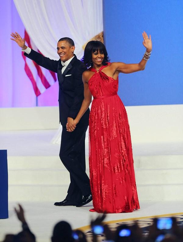 Michelle Obama Dazzles In Jason Wu: Commander-In-Chic