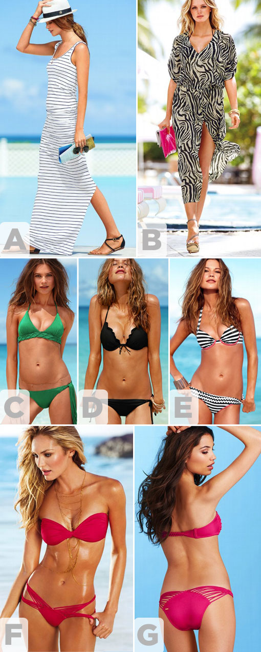 Favorite Swimwear: Escape the Cold