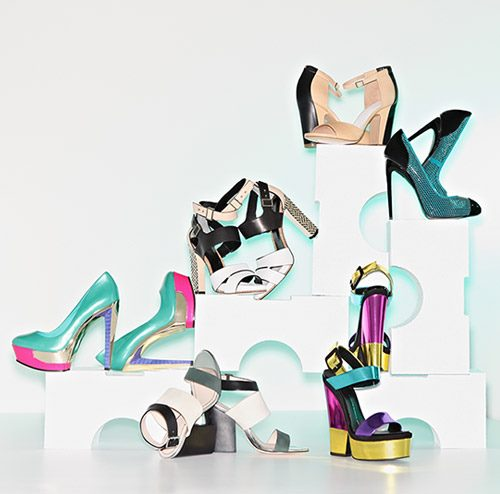 Hot Trend:Color Blocked Shoes and Sandals
