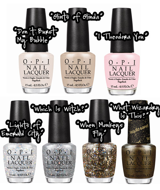 OPI's Great and Powerful OZ Collection & Giveaway