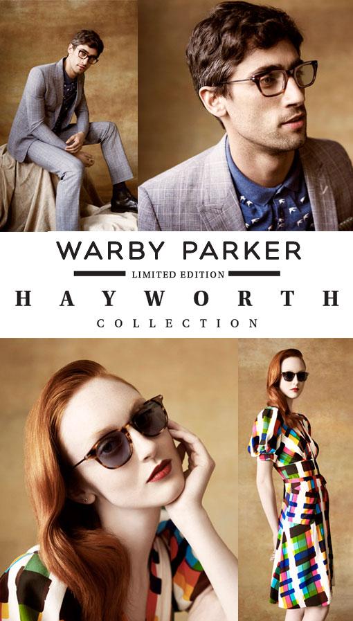 Heartbreaker Alert: Warby Parker Hayworth Collection