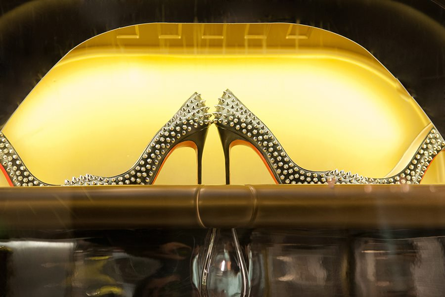 Get Hooked: Christian Louboutin Windows