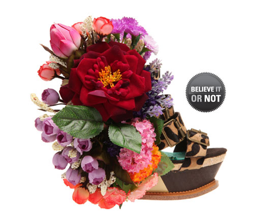 Footwear with Flower Power