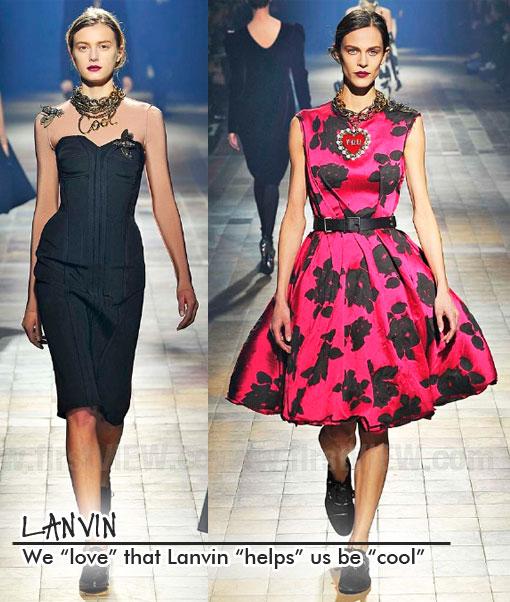 Very Cool: Paris Fashion Week 2013