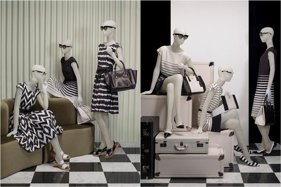 Prada: So Black & White