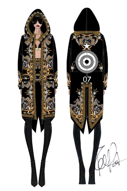 Rihanna-Givenchy-Tour-Costumes-garticle-1