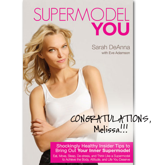 Congratulations Supermodel You WINNER!