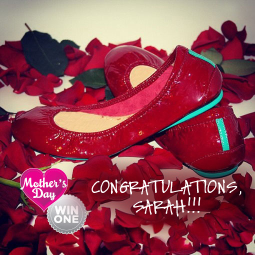 Congratulations, Tieks WINNER!