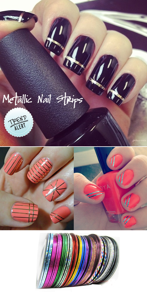 metallic-nail-strips