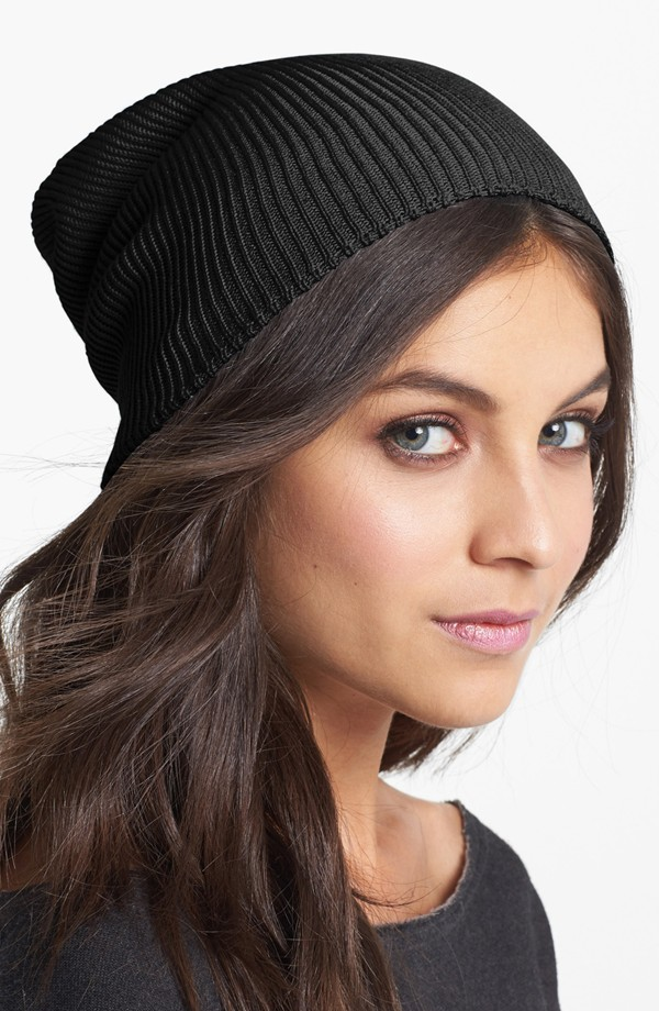 Fall Must: The Slouchy Knit Cap