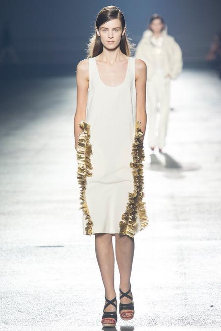 Paris Fashion Week: Lanvin Shines, Dries Ruffles & Ricci Romances
