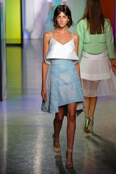 London Fashion Week: We Heart Peter Pilotto Spring 2014