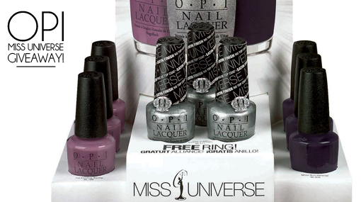 Giveaway: OPI Shades Fit For A Beauty Queen