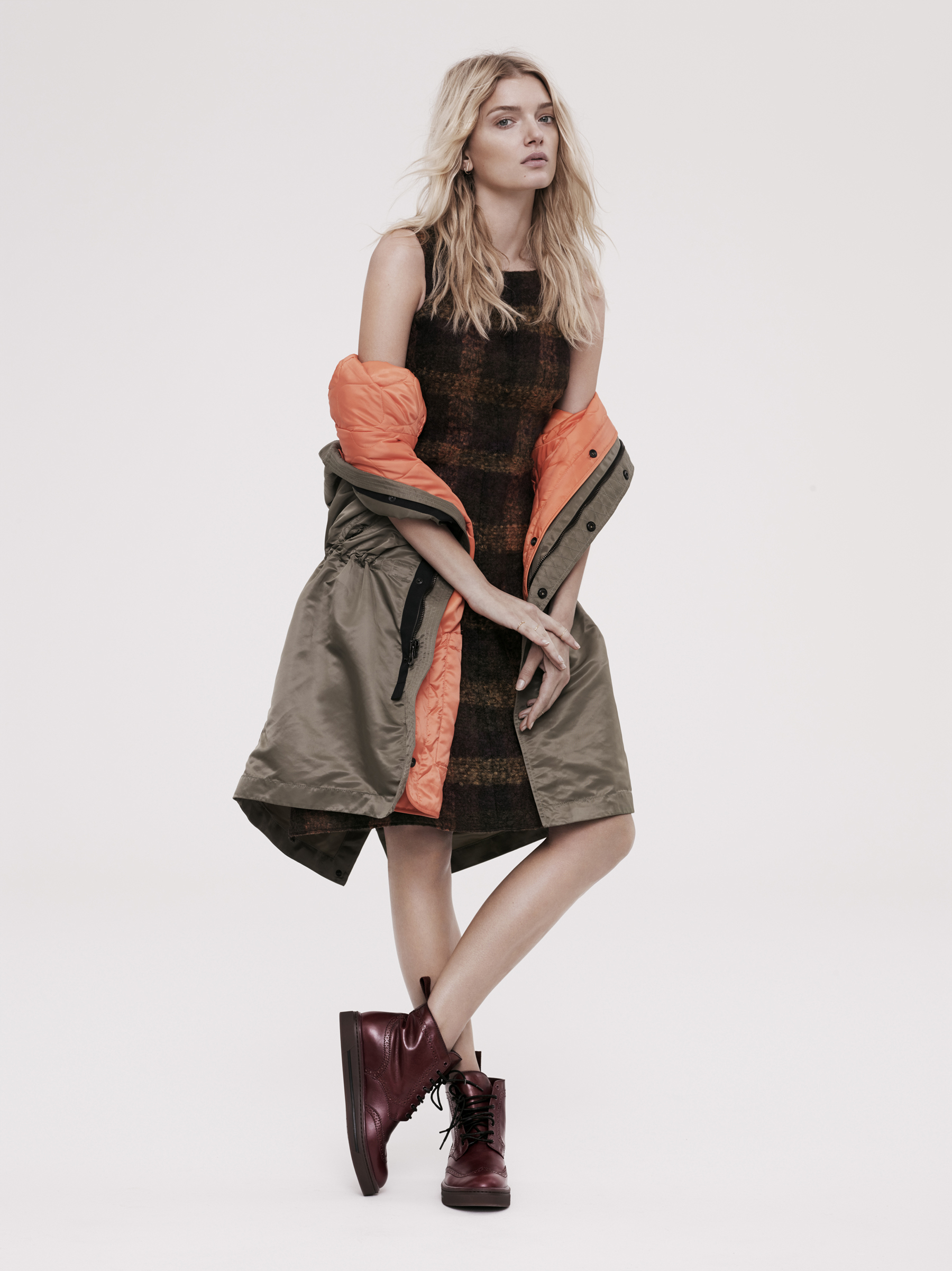 Lily Donaldson In Tough Luxe Looks