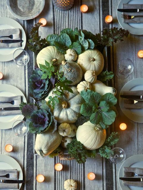 Easy, Last Minute Thanksgiving Table DIY Decor Ideas