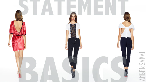 Amber Sakai Reinvents Statement Basics & Much Much More