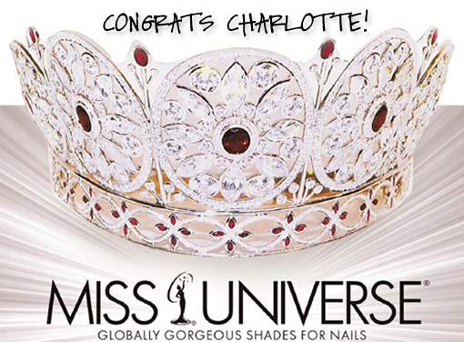 Congratulations OPI Miss Universe WINNER!