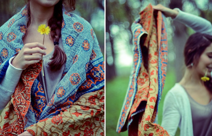Cozy Up With Hand & Cloth Blankets