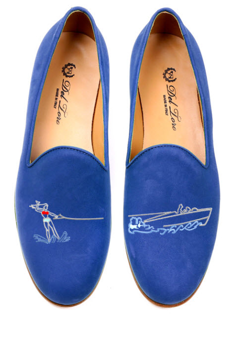 Eye-Catching Del Toro Slippers For Spring 2014