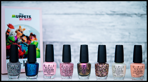GIVEAWAY: OPI's Most Wanted Muppet Colors