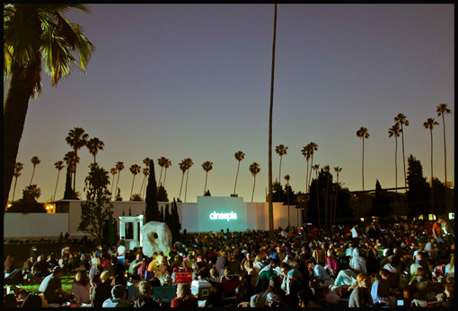 LA FINDS: Movie in the… Cemetery?