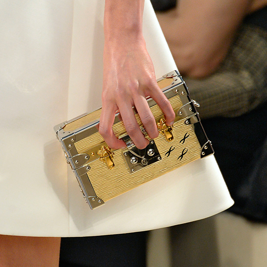 The Hottest Clutch In The World: Louis Vuitton's Petite Malle Trunk