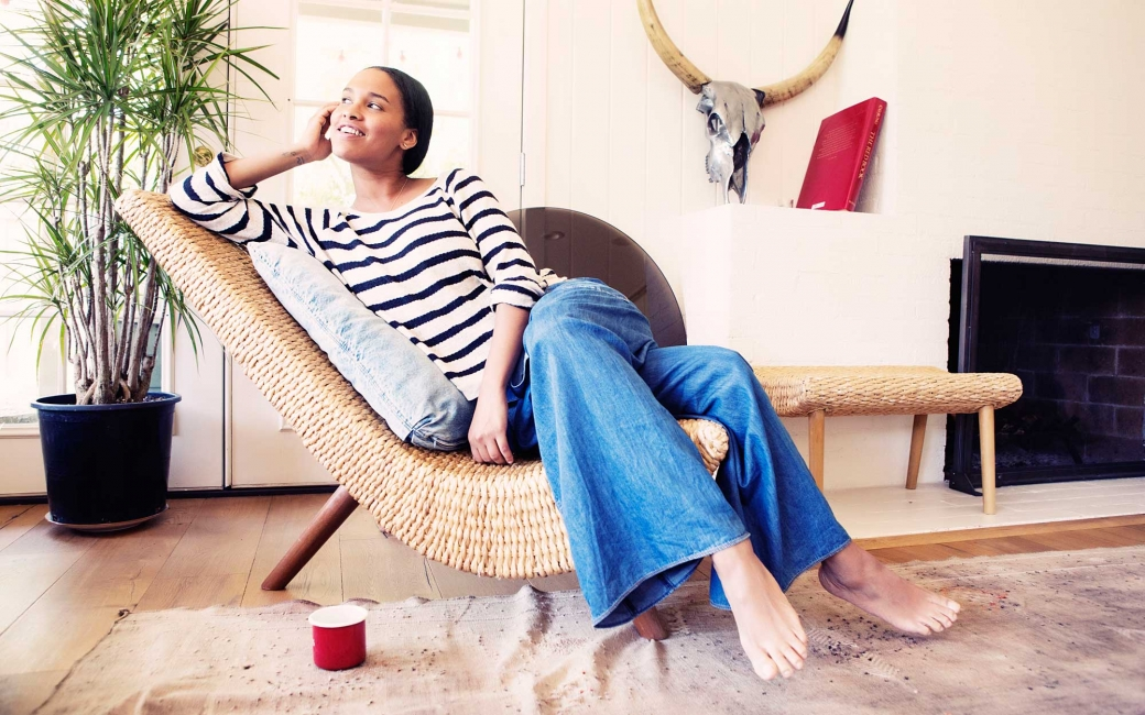 ee99ec6e42d6 Celebrity Style: Joy Bryant's Not-So-Basic, Basic Terrain