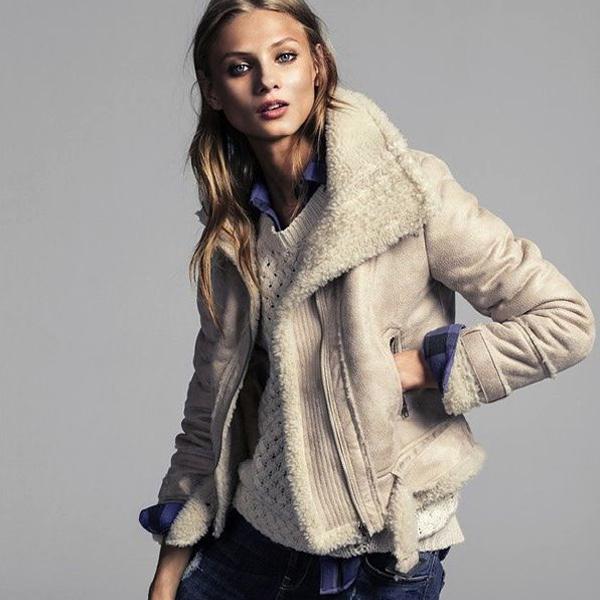 The Sure Thing Shearling Outerwear