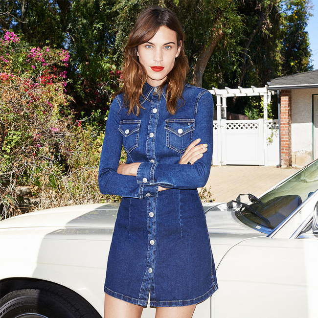 Alexa Chung's Hot New Denim Collab