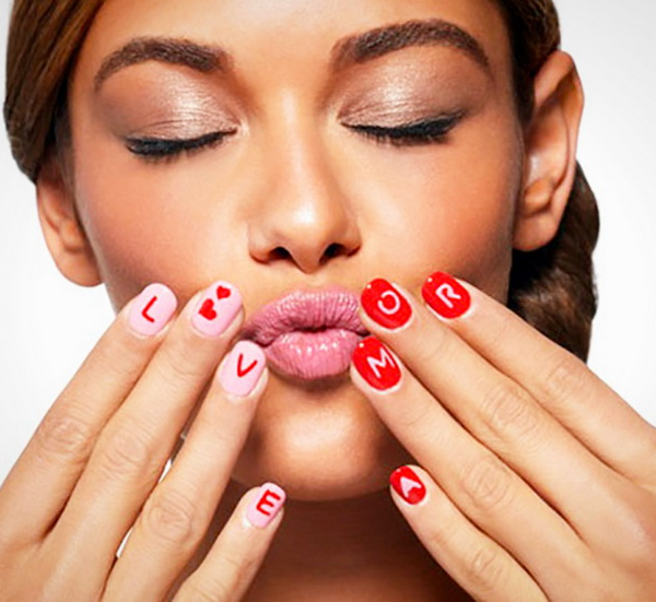 Flirty Fingernails For Valentines Day