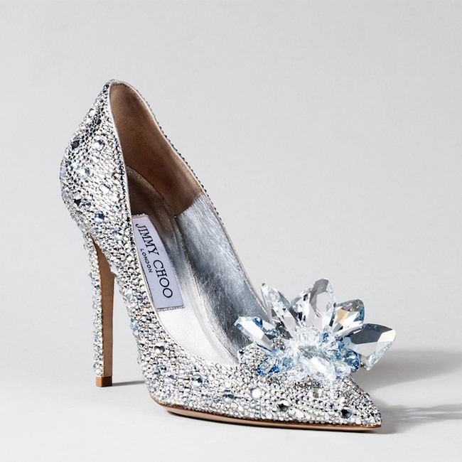 Exclusive: Cinderella Glass Slipper Designer Shoe Collab Debuts In Beverly Hills Today