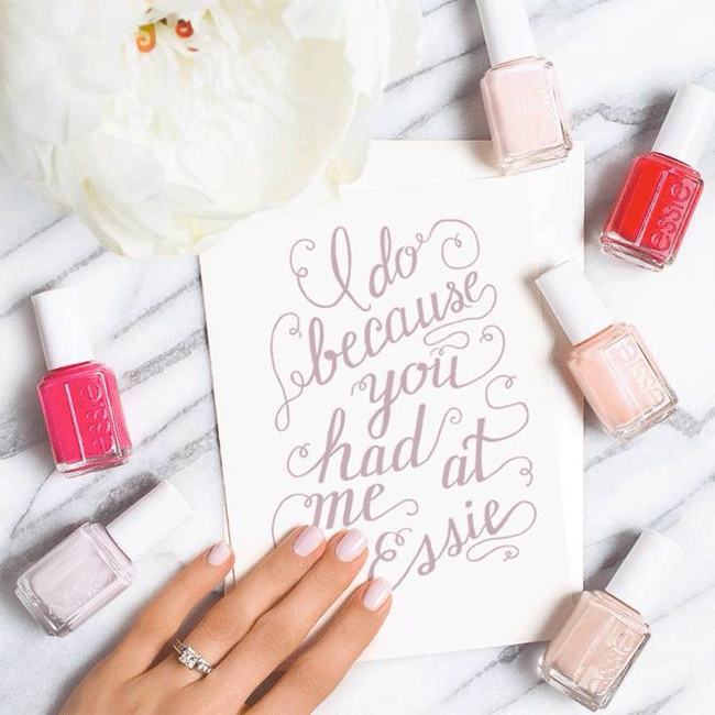 Essie Bridal Polish GIVEAWAY – Because Let's Face It, A Happy Wife is A Happy Life!