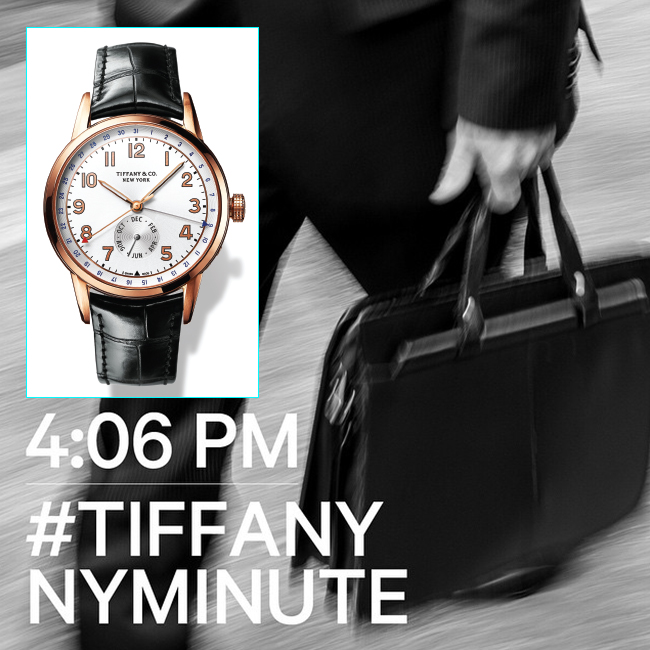 Trending: Watch Out For The Stylish Tiffany CT60 New York Minute Watches