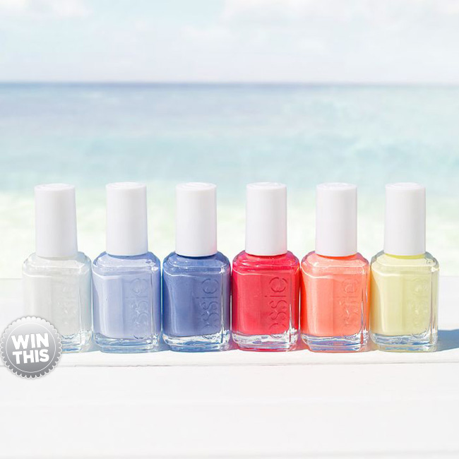 The Essie Endless Summer Polish Giveaway!
