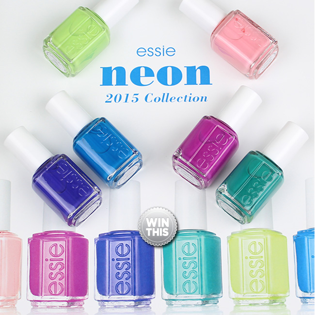 Neon is the New Summer Neutral Essie Polish GIVEAWAY!!