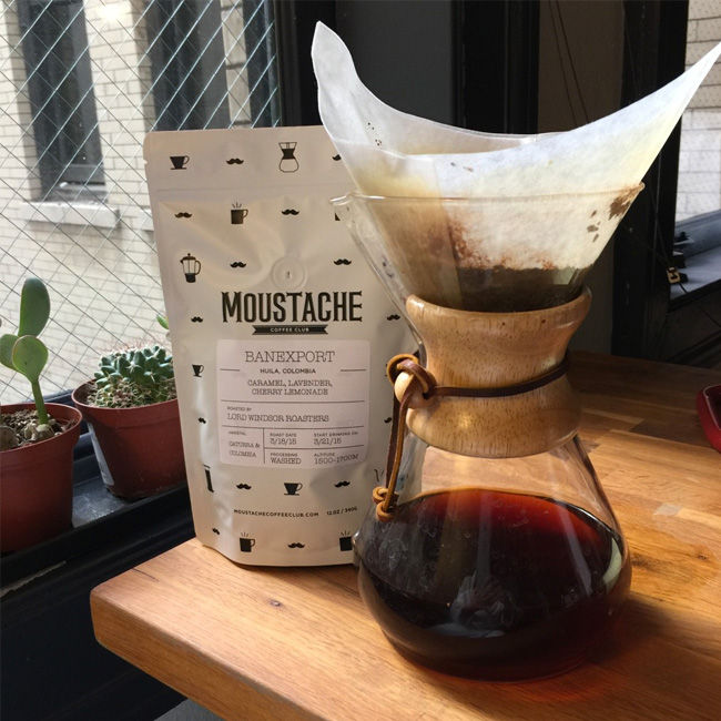 Monday Morning Foodie Find: Moustache Coffee Club