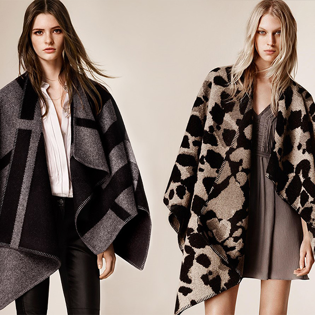 Trend Alert: Ponchos, Wraps & Capes. Oh My!