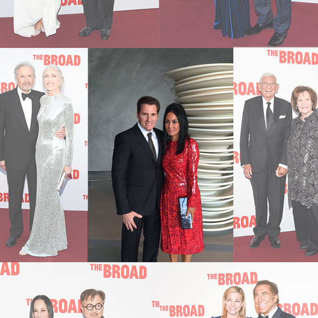 Parties: LA, Celebs, and The Art World Flock To The Broad Museum Opening