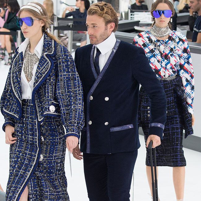 #PFW: Chanel Takes Us For A First Class Ride on Flight #SS16