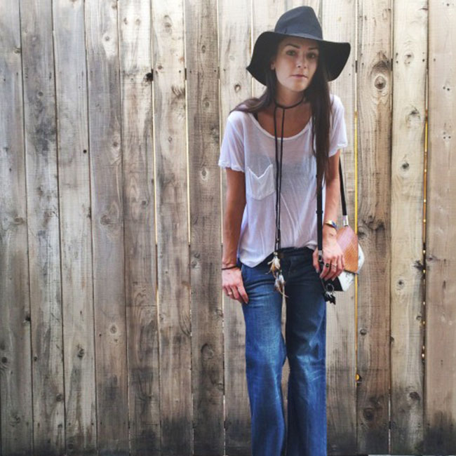 Trending: Flared Jeans For Fall