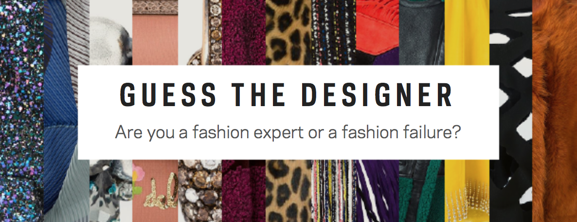 Amazing Giveaway: Guess The Designer For A Chance To Win Up To £500 At Farfetch