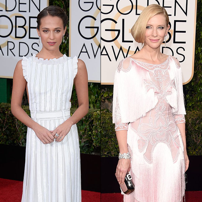 Best Dressed Celebs At The Golden Globes