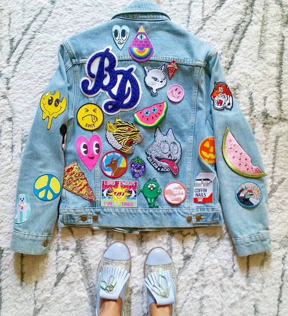 Trending: The Revival Of Patch Fashion