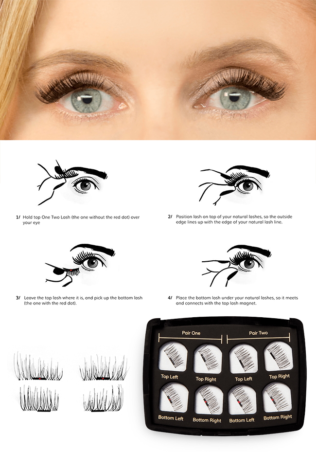 Magnetic Lashes That Are Making A Splash In The Beauty World