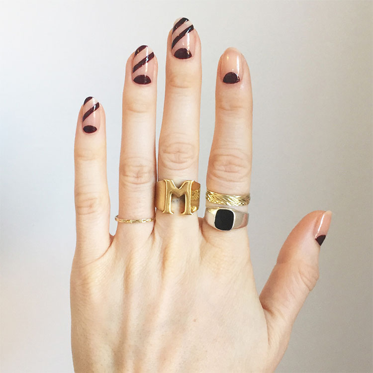 Negative Space Fingernails For 2018