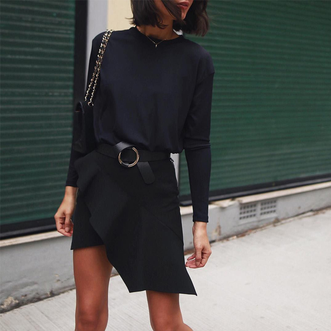 The Transitional Mini Skirt